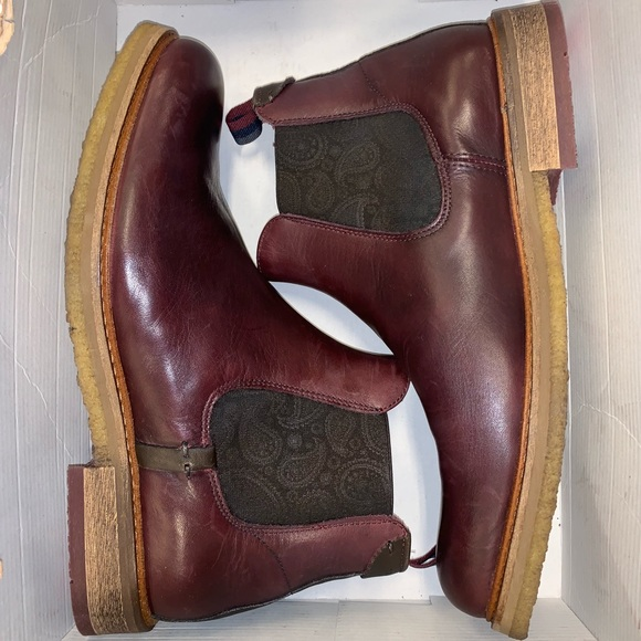 2ac9685b313 Men's Ted Baker Bronzo Leather Chelsea Boots NWT